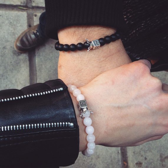rose-quartz-and-matte-onyx-queen-and-king-bracelets1