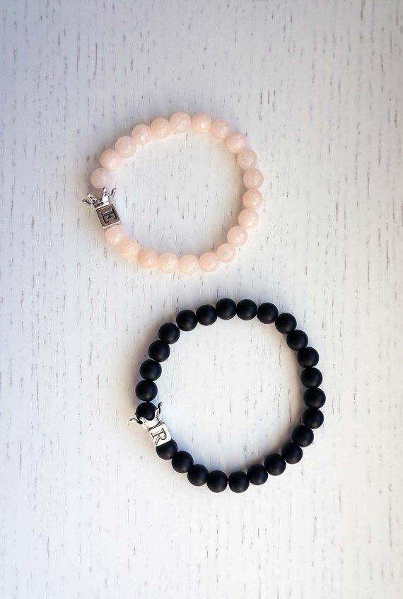 rose-quartz-onyx-queen-and-king-bracelets